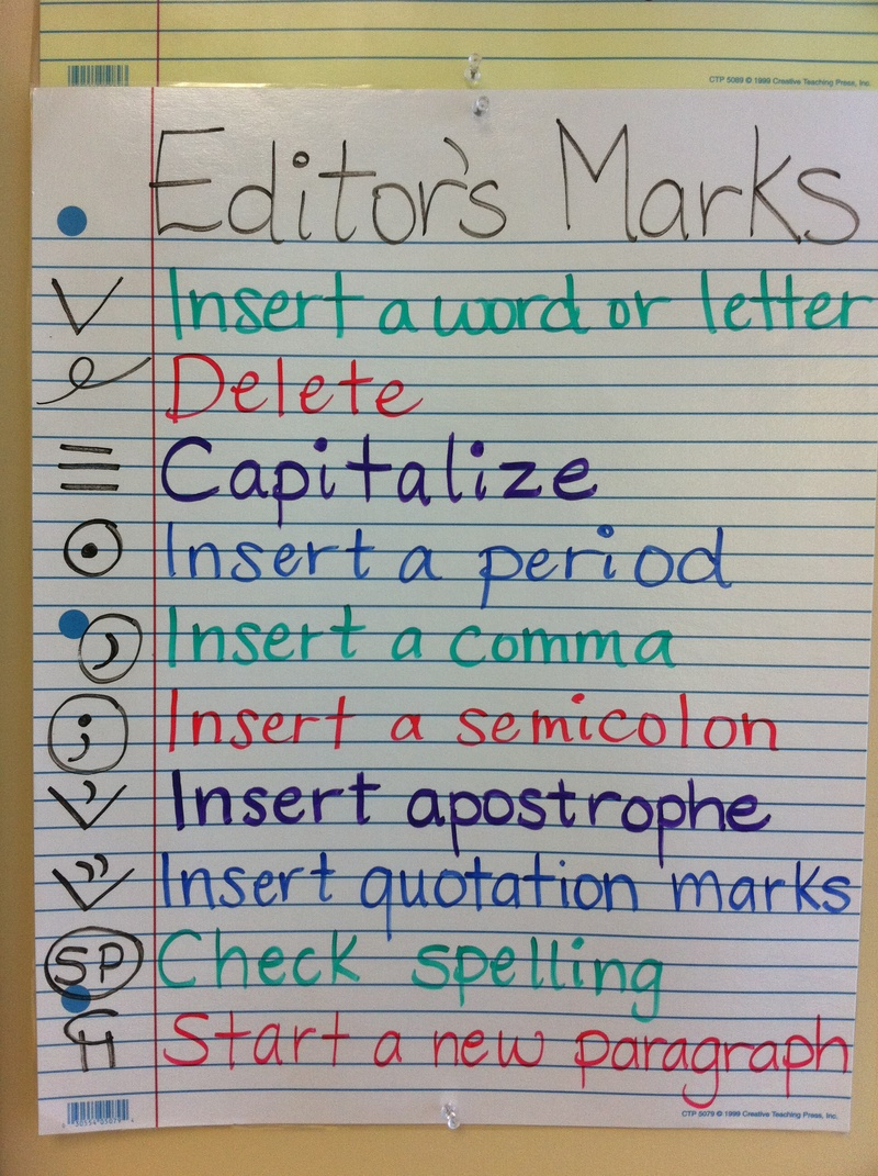 editor s marks